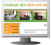 Kilkenny Web Design. Carraig Rua B and B
